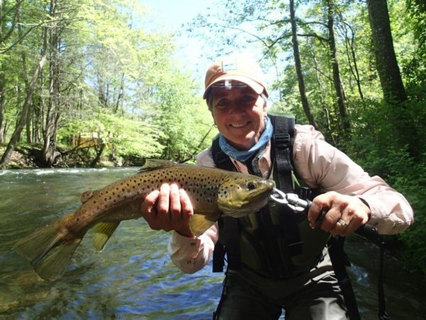 best trout fishing near Bryson City is the Nantahala River