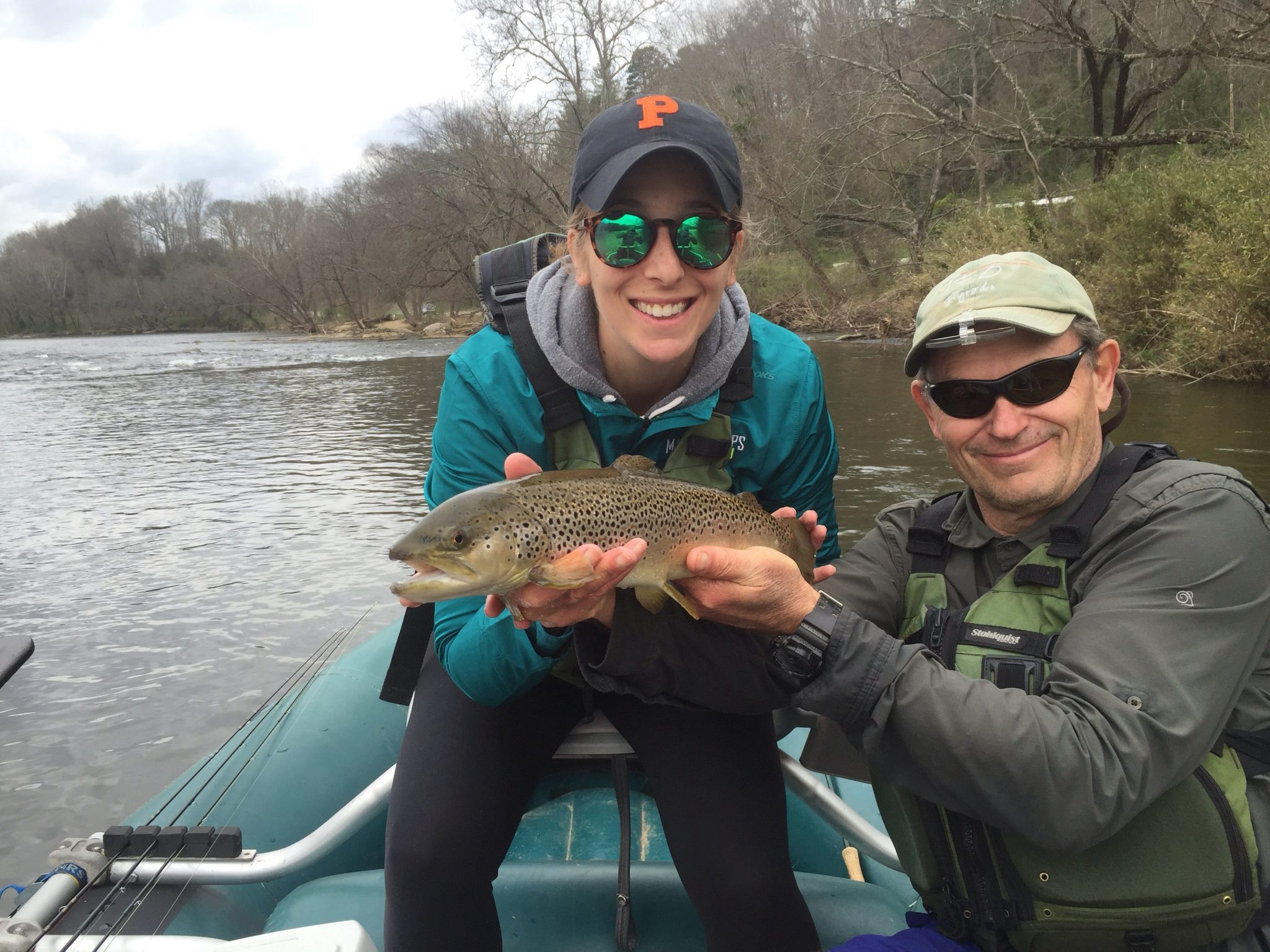 Fly fishing the Lower Tuckaseege