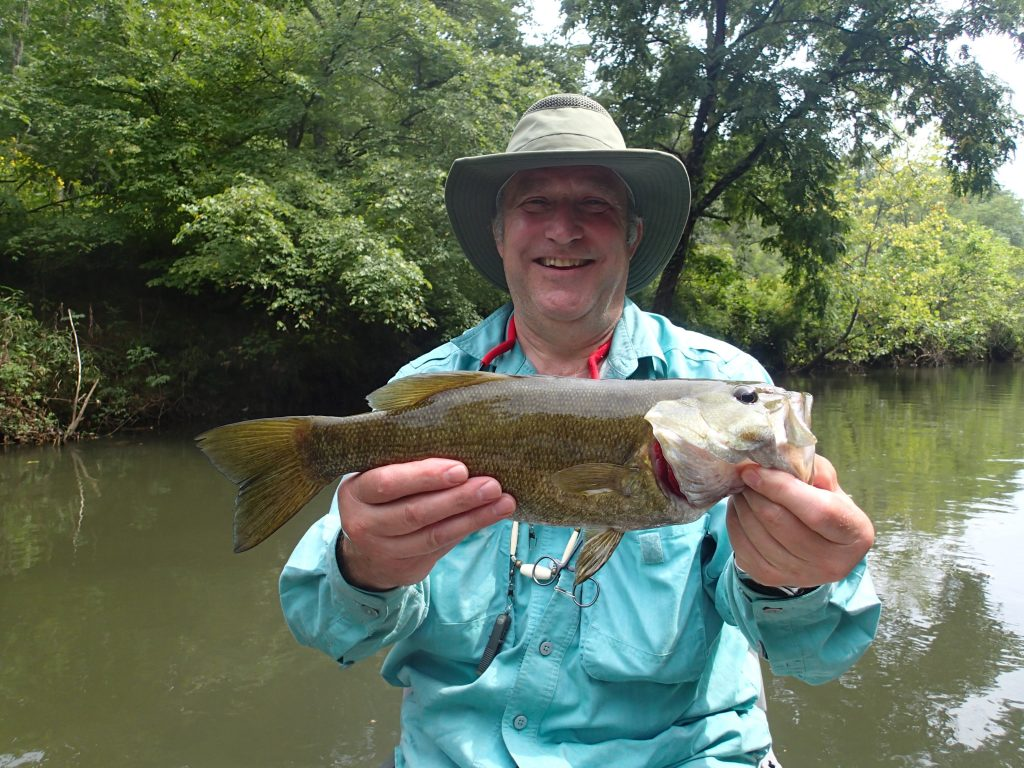 Fly fishing the Little T